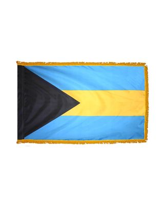3ft. x 5ft. Bahamas Flag for Parades & Display with Fringe