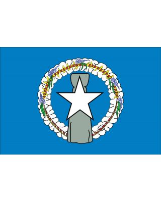 3 ft. x 5 ft. Northern Marianas Flag for Parades & Display