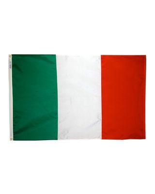 4ft. x 6ft. Italy Flag with Brass Grommets