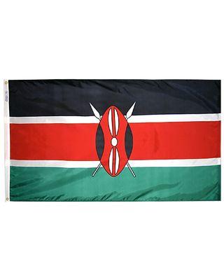 5ft. x 8ft. Kenya Flag