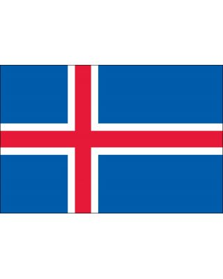 3ft. x 5ft. Iceland Flag for Parades & Display
