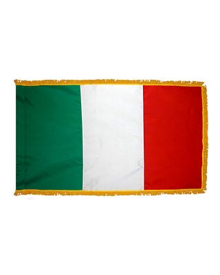 3ft. x 5ft. Italy Flag for Parades & Display with Fringe