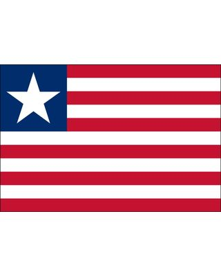 3ft. x 5ft. Liberia Flag for Parades & Display