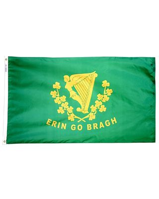 3ft. x 5ft. Erin go Bragh Flag for Parades & Display