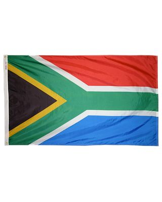 3ft. x 5ft. South Africa Flag with Brass Grommets