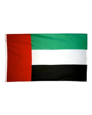 2ft. x 3ft. United Arab Emirates Flag with Canvas Header