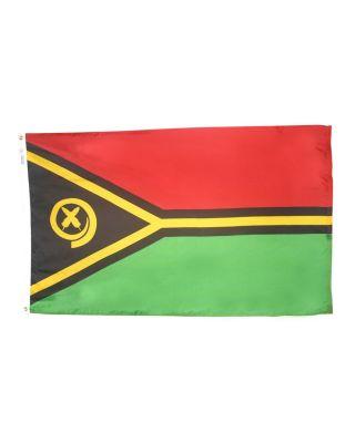 3ft. x 5ft. Vanuatu Flag with Brass Grommets