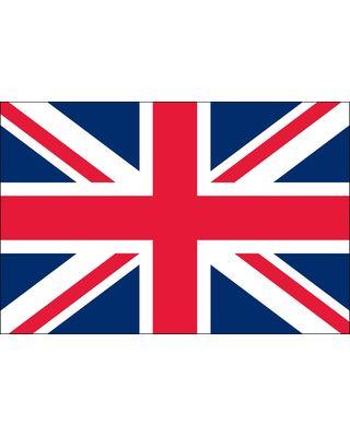 2ft. x 3ft. United Kingdom Flag for Indoor Display