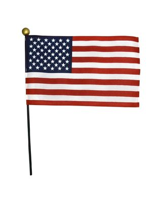 4 x 6 in. U.S. Flag on a Stick-12 Pack