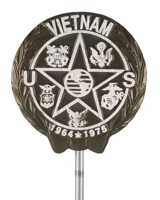 Vietnam War Veteran Memorial Marker Aluminum