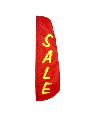 8 ft. x 2 ft. Sale Feather Banner Nylon