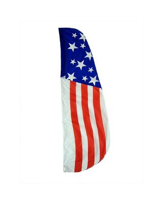8 ft. x 2 ft. Patriotic Feather Flag
