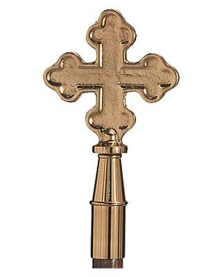 Solid Brass Botonee Cross Finial