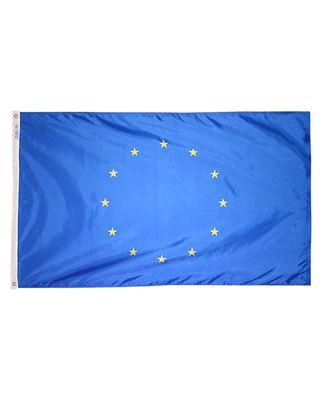 2ft. x 3ft. European Union Flag with Canvas Header