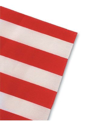 US Flag No Fray No Hemmed Edge