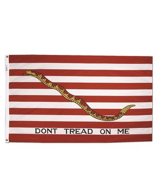 1 ft. 10-13/16 in. x 2 ft. 8-9/16 in. First Navy Jack - Size 8