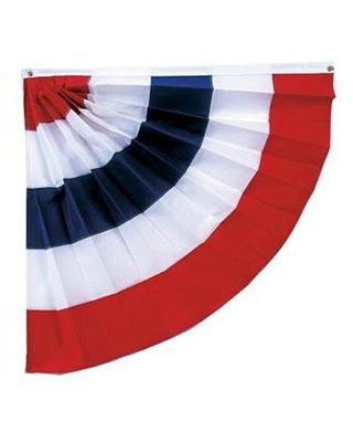 3 x 3 ft. Pleated Haft Fan