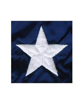 Embroidered Stars on Nylon Flag
