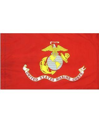 4 4 Ft X 5 6 Ft Us Marine Corps Flag Indoor Display