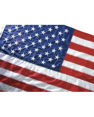 5 ft. x 8 ft. Eco-Friendly US Flag Heading & Grommets