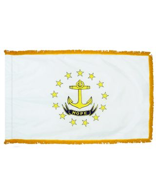 4ft. x 6ft. Rhode Island Fringed for Indoor Display