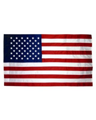 3ft. x 4ft. Rayon US Flag for Indoor Display