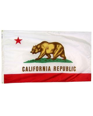 3 ft. x 5 ft. California Flag E-poly with Brass Grommets