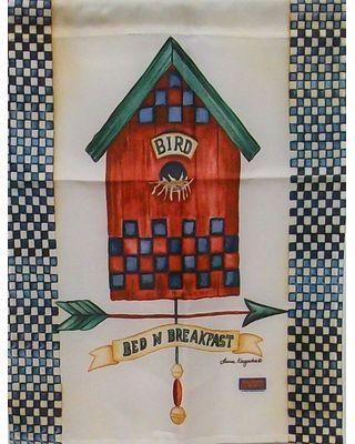 Bed and Breakfast Garden Flag