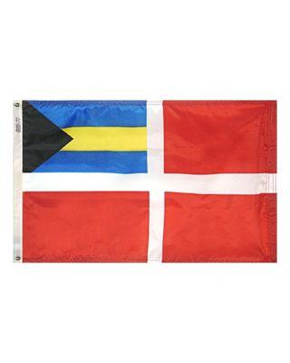 12 x 18 in. Bahamas Courtesy Flag