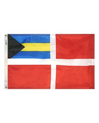 16 x 24 in. Bahamas Courtesy Flag