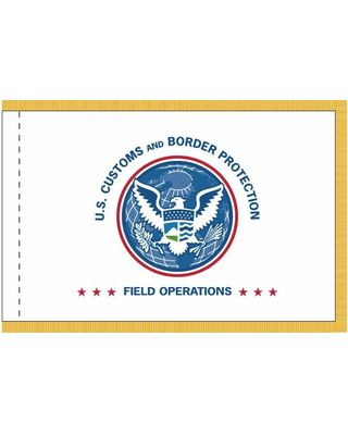 4 ft. x 6 ft. U.S. CBP OFO Flag Display w/ Fringe