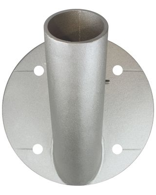 45 Degree Outrigger Wall Mount Bracket Only 3 in. Dia. Pole