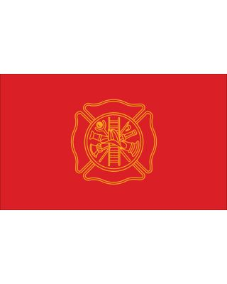 3 x 5 ft. Firefighters Flag Outdoor Use