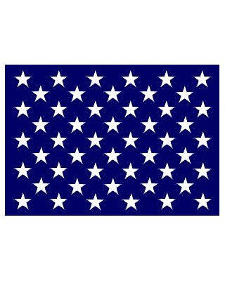 18x25 in. Nylon U.S. Jack Ensign with Heading and Grommets