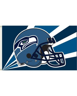 NFL Seattle Seahawks Flag