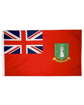 2ft. x 3ft. British Virgin Island Red Flag