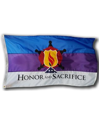 3 x 5ft. Honor and Sacrifice Flag
