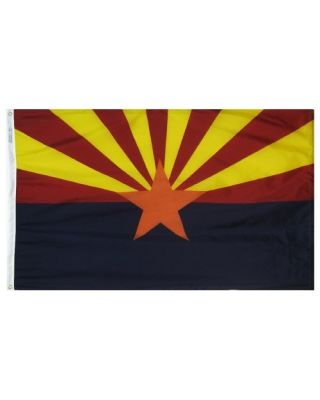 12 x 18 in. Arizona flag