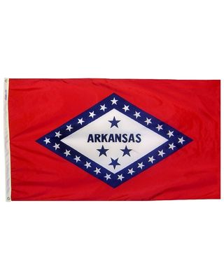 12 x 18 in. Arkansas flag