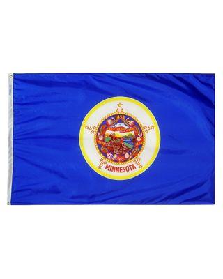 12 x 18 in. Minnesota flag