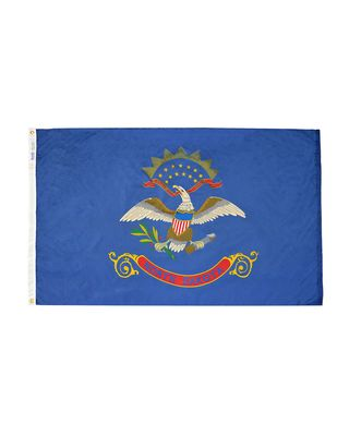 12 x 18 in. North Dakota flag