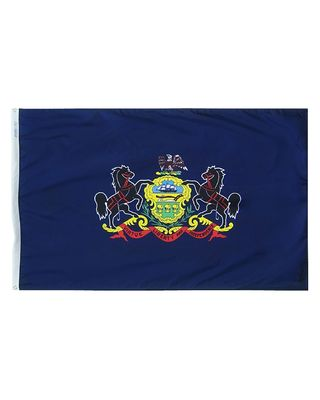 12 x 18 in. Pennsylvania flag