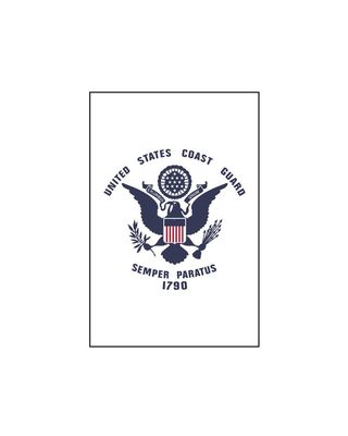 28 x 40 in. US Coast Guard Banner
