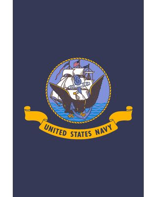 28 x 40 in. US Navy Seal Banner