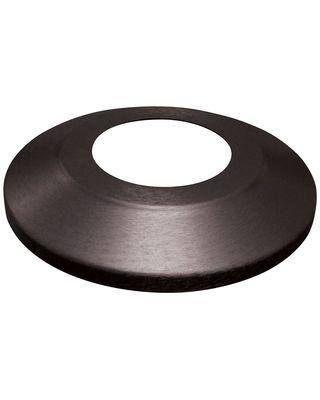 Black Anodized Standard Split Flagpole Flash Collars