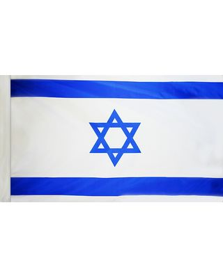2ft. x 3ft. Israel Flag for Indoor Display