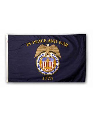 2ft. x 3ft. Merchant Marine Flag Outdoor