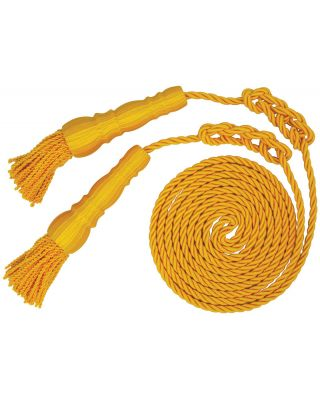9 ft. Yellow Cord and 6 in. Tassels