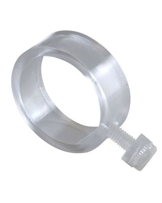 Clear Plastic EZ-Mount Flag Ring