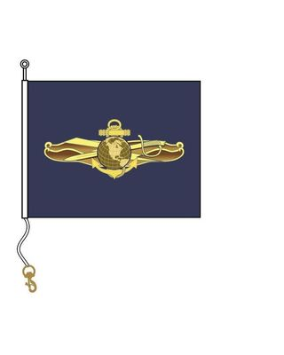 19 in. x 24 in.  Information Dominance Warfare Officer Pennant